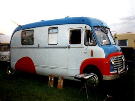 1957 Commer Landliner #campingcar #rv #motorhome - so cool !