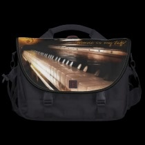 Music is my Life! commuterbag by ASummersDay