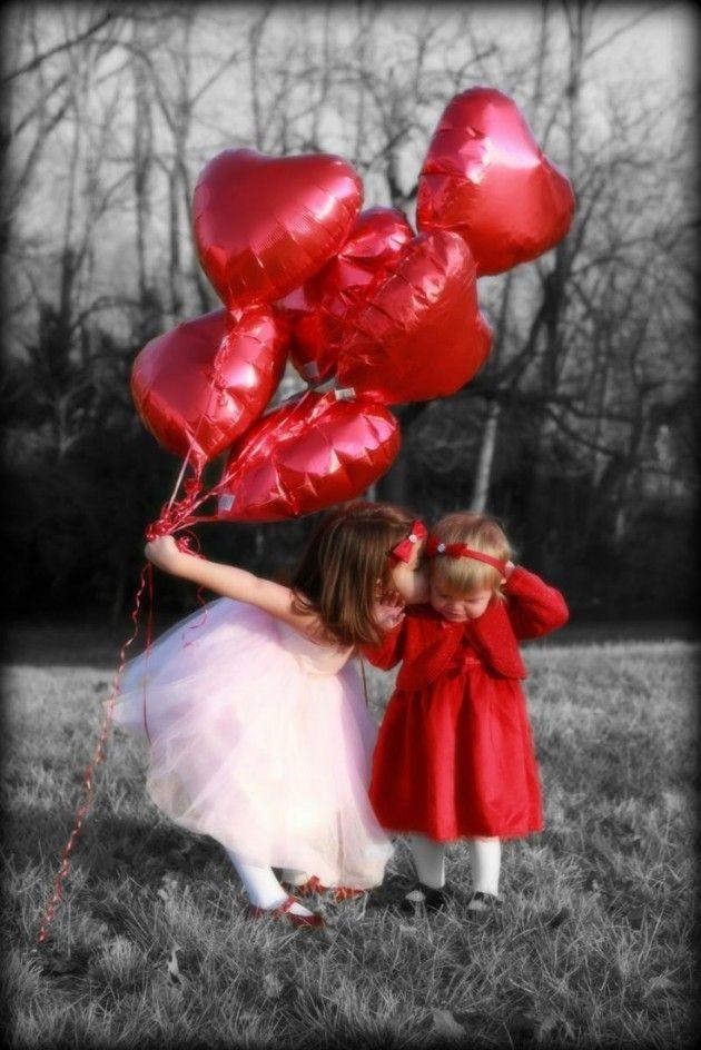 Valentine's Day Children Photos