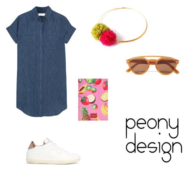 Peony Design by teri-peony on Polyvore featuring Madewell, LEATHER CROWN, Dolce&Gabbana and Tom Ford