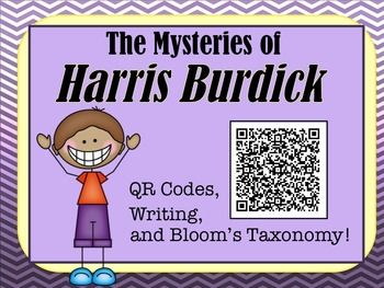 QR Codes, Questioning Strategies with Blooms, Writing, and the Mysteries of Harris Burdick!  What could be more fun?