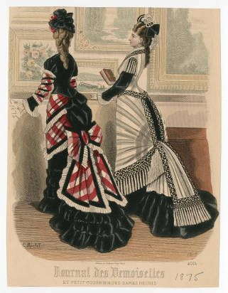 Women 1875-1876, Plate 048 :: Costume Institute Fashion Plates