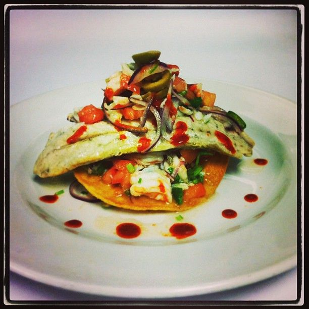 t's #snowing let's #eat ! 2-8 #Weekend #Specials #Roslyn, #NY~Pescado y Tostada de Salpicon: Pan #roasted filet of #American Red Snapper over crispy tortilla topped w/ jumbo lump crab meat & #baby shrimp salpicon #appetizer #entree #weekend #mexicanfood #menu #eastcoast #newengland #restaurant #yummy #yum #igers #foodporn #bestoftheday #follow #food #like #amazing #newyork #longisland #foodie #chef