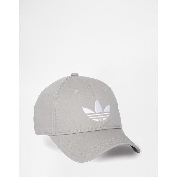 adidas Originals Trefoil Cap ($18) ❤ liked on Polyvore featuring accessories, hats, caps hats, adidas, peaked cap, adidas hats and adidas cap