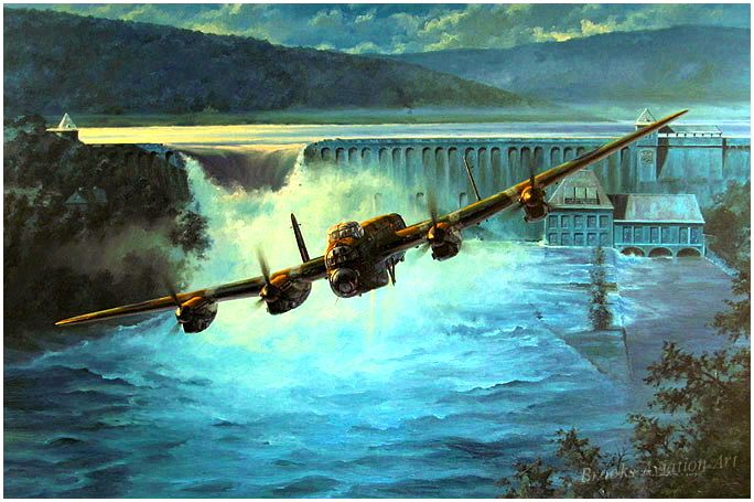 Dambusters - by Anthony Saunders.