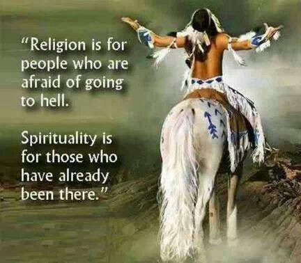 Spirituality.....