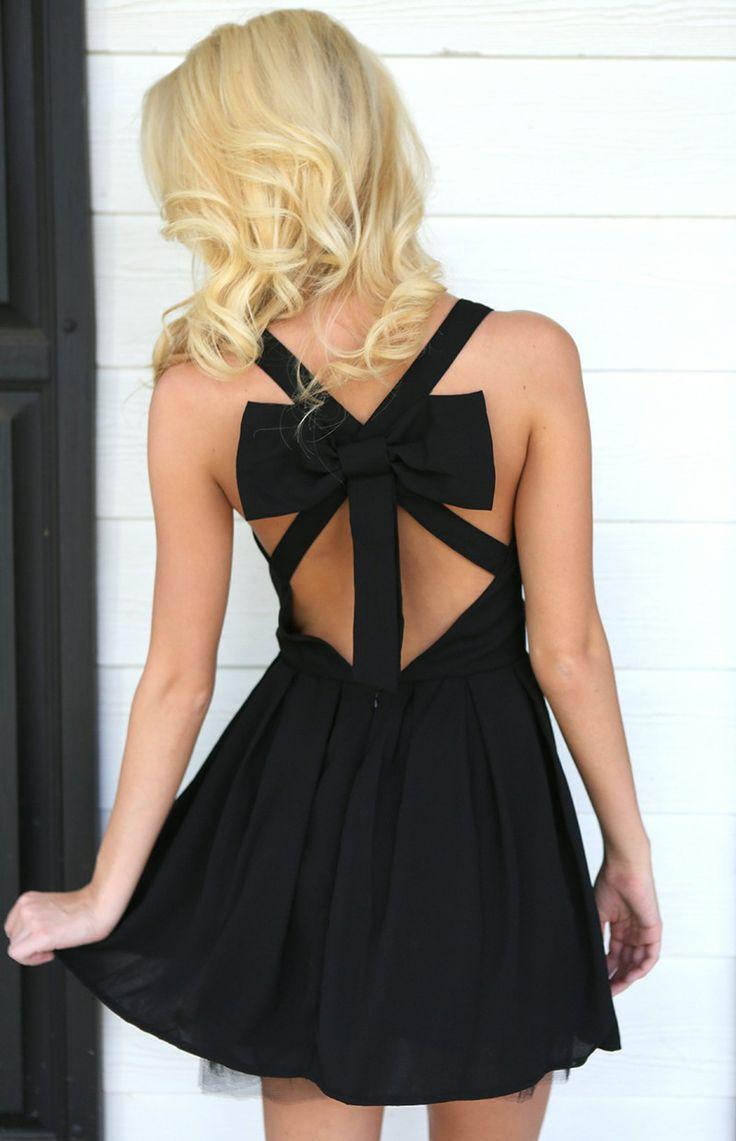 Cover Girl Dress-Black - $40.00