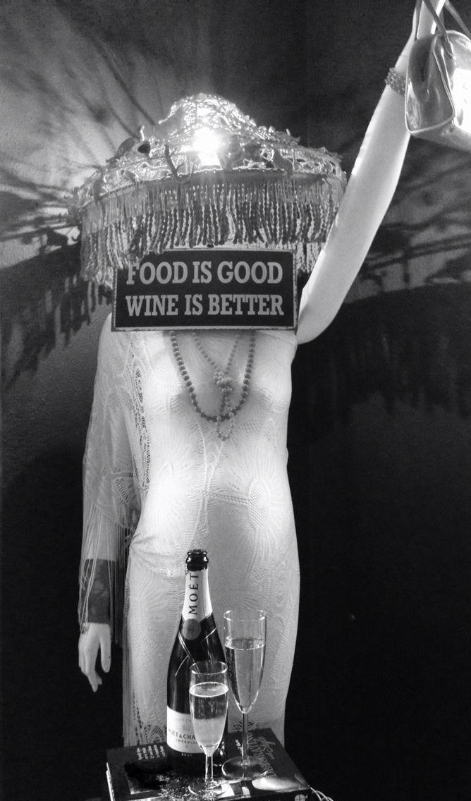 Supermama likes wine.