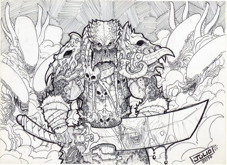104 best SCIFI COLOURING PAGES