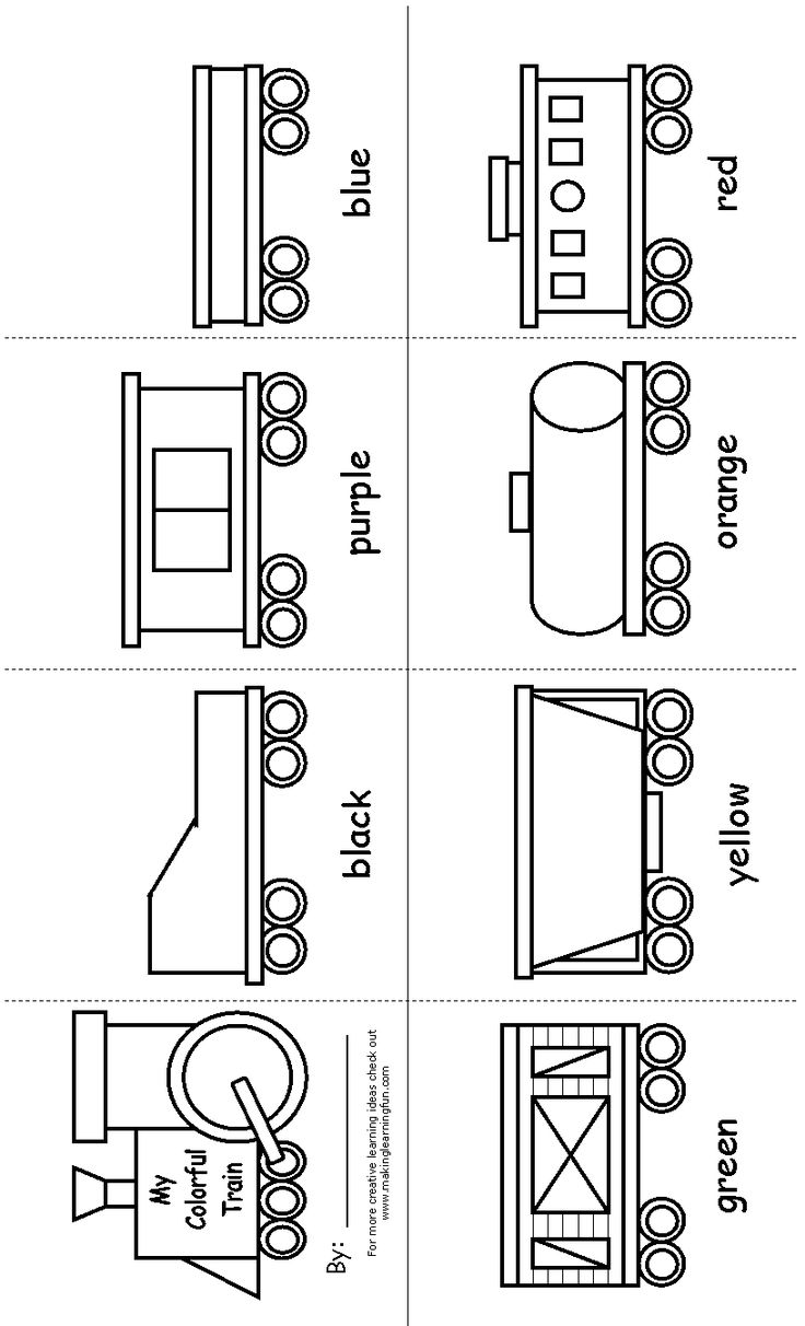Train boxcar coloring pages - Train Templates