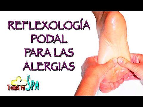 REFLEXOLOGÍA PODAL PARA RESFRIADOS Y GRIPE / FOOT REFLEXOLOGY FOR FLU - YouTube