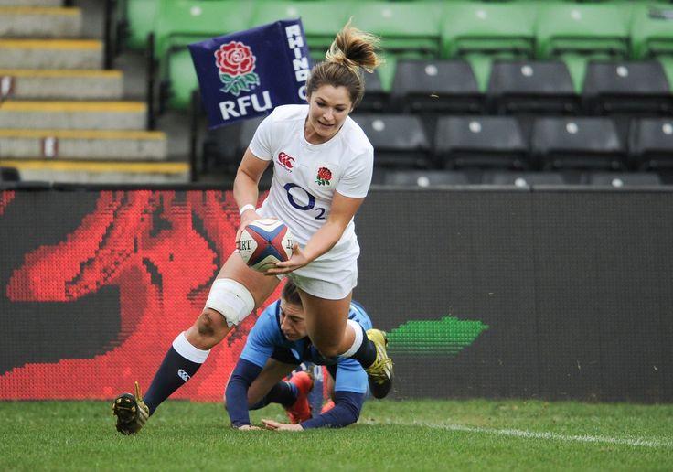 #WomensSixNations #RBS6Nations Amy Wilson Hardy. Anglaterra [29-15] Itàlia. The Stoop, Twickenham