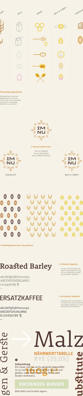 im nu   Corporate Identity Study by Julian Hrankov, via Behance