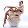 "Johan Ku's ""Emotional Sculpture"" Takes Chunky Knits To An Extreme Johan Ku Emotional Sculpture – Ecouterre"