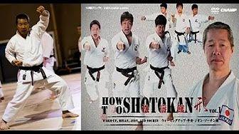 Masatoshi Nakayama tecnicas de Karate Shotokan - YouTube