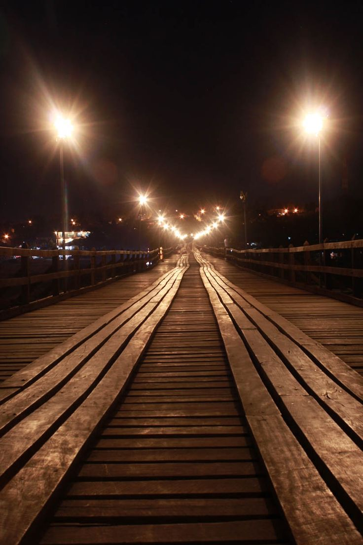 Mon Bridge.At Sangkhlaburi. Kanchanaburi. Thailand.