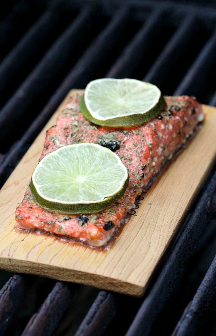 Black Garlic & Lime Cedar Plank Salmon Catfish Recipescod
