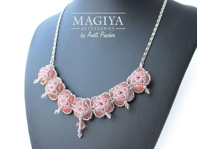 ピンク姫のネックレス ✿