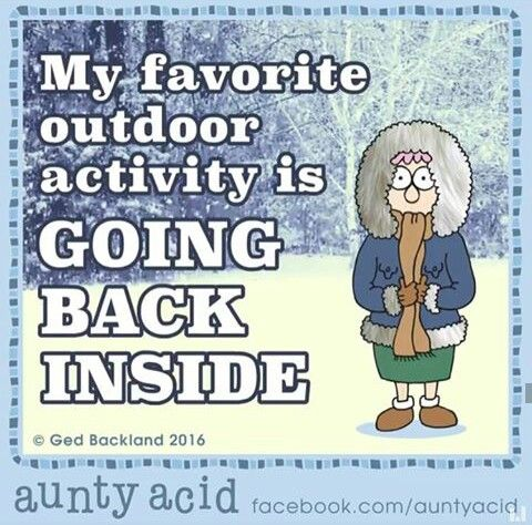 IN THAT KIND OF WEATHER...NO DOUBT. LOL!