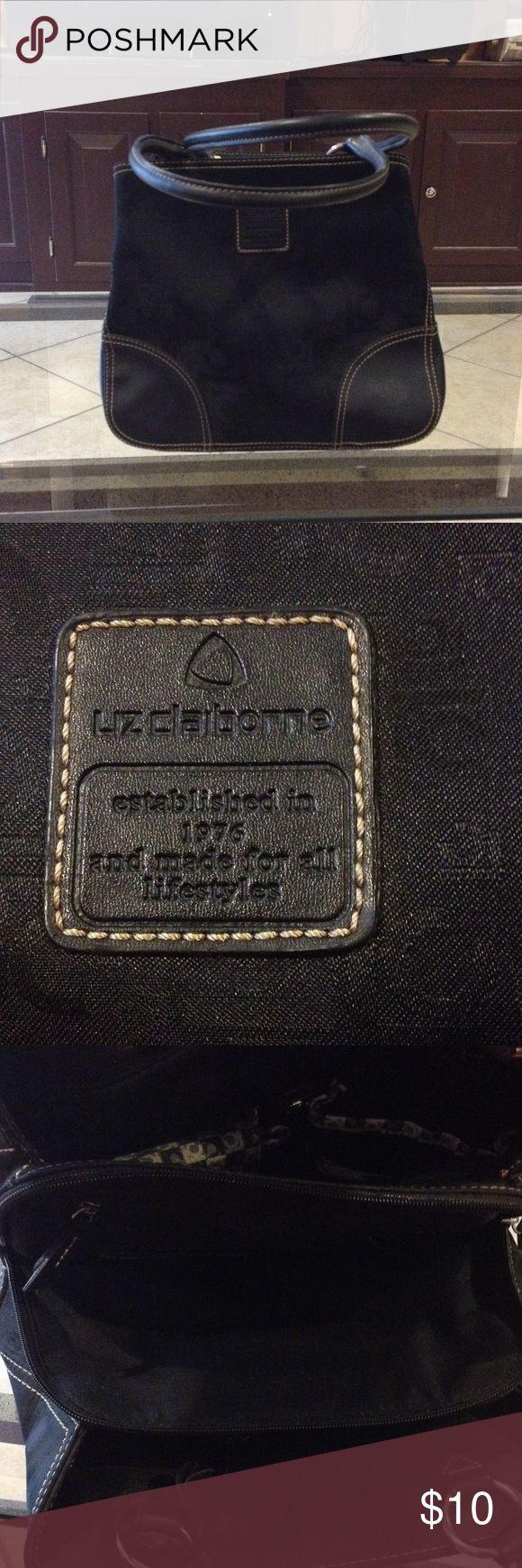 Liz Claiborne black purse good condition Liz Claiborne black purse good condition Liz Claiborne Bags