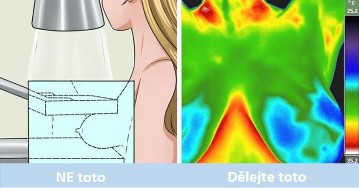 Když vám lékař navrhne vyšetření na mamografu