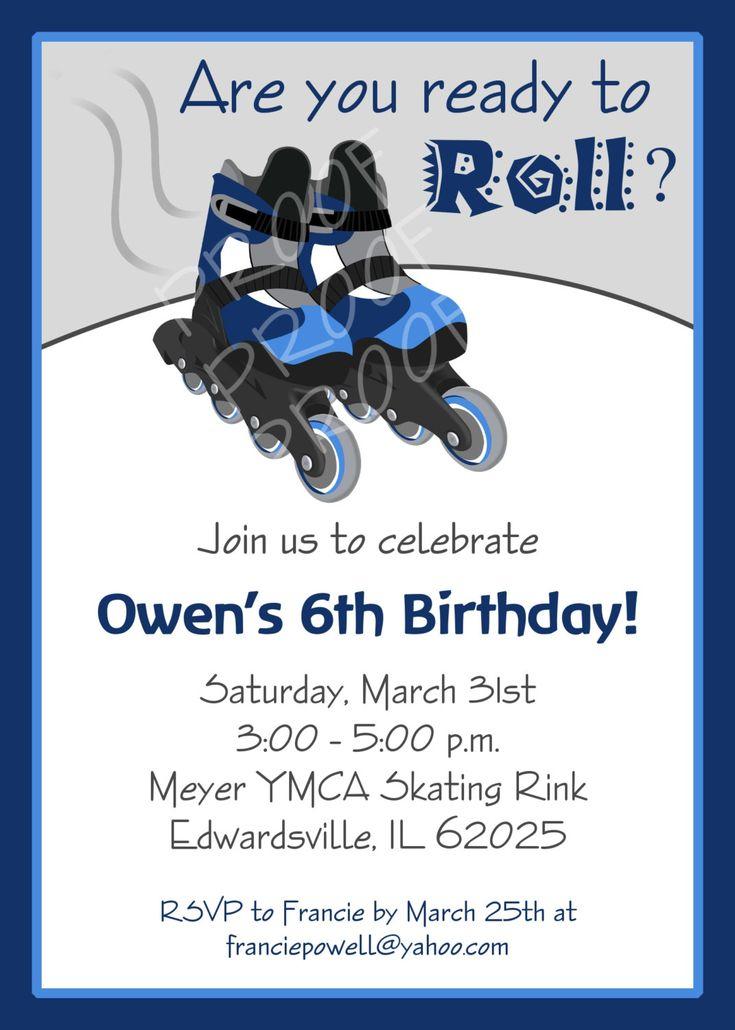 printable boy birthday invitations