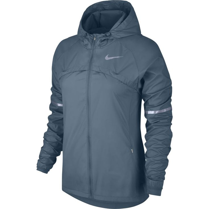 Nike Shield Hooded Running Jacket W - Naisten tuulitakki - Intersport