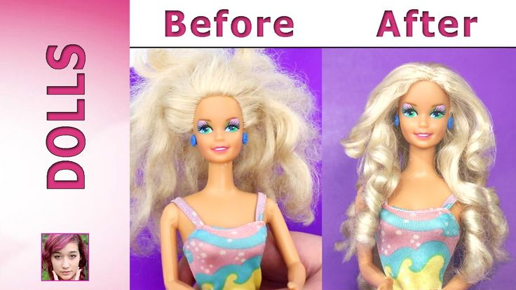 In celebration of Barbie's Birthday March 9th. Guppy shows you how she transformed this Barbie's hair from AWFUL to AWESOME! You'll never throw away an old B...