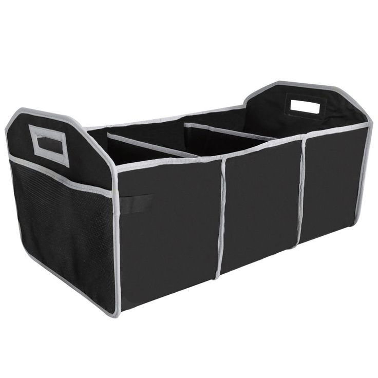 Evelots Trunk Organizer, Collapsible & Portable, Vehicle Storage & Organization