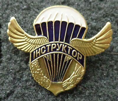 ukraine ukrainian   VDV PARATROOPS WINGS PIN BADGE  instructor