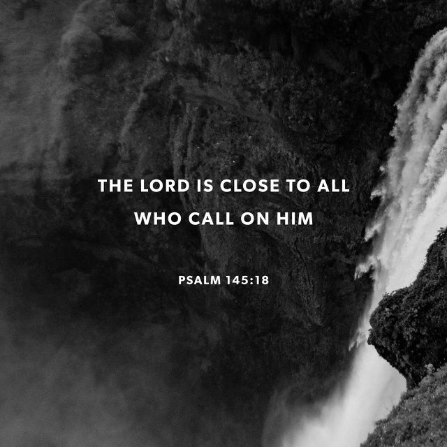 """GOD 's there, listening for all who pray, for all who pray and mean it. He does what's best for those who fear him— hears them call out, and saves them."" ‭‭Psalm‬ ‭145:18-19‬ ‭MSG‬‬ http://bible.com/97/psa.145.18-19.msg"