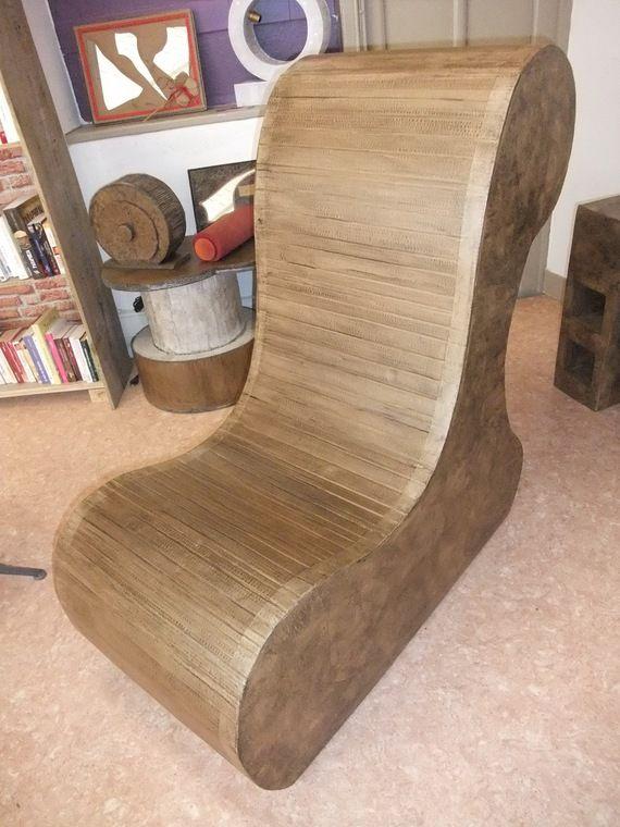 les 25 meilleures id es concernant fauteuil en carton sur. Black Bedroom Furniture Sets. Home Design Ideas