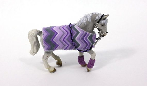 Schleich Horse Accessories blanket reins bridel boots play scale magnetic clasp