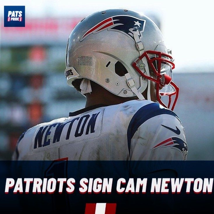 Former Mvp Qb Cameron1newton Has Signed A 1 Year Deal With The Pats Lfg In 2020 Nfl Highlights Nfl Football Art New England Patriots