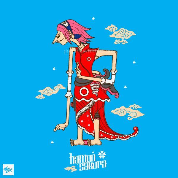 Hruno Sakura Wayang - Team 7 on Behance, full project >> http://bit.ly/1iq5Oeg
