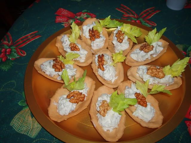 Barchette al formaggio ( Natale 2010 )