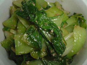 簡単!チンゲン菜のウマウマ♪ナムルの画像