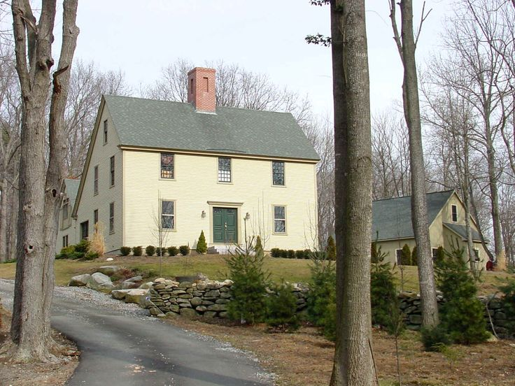 images about SALTBOX Houses on Pinterest Colonial