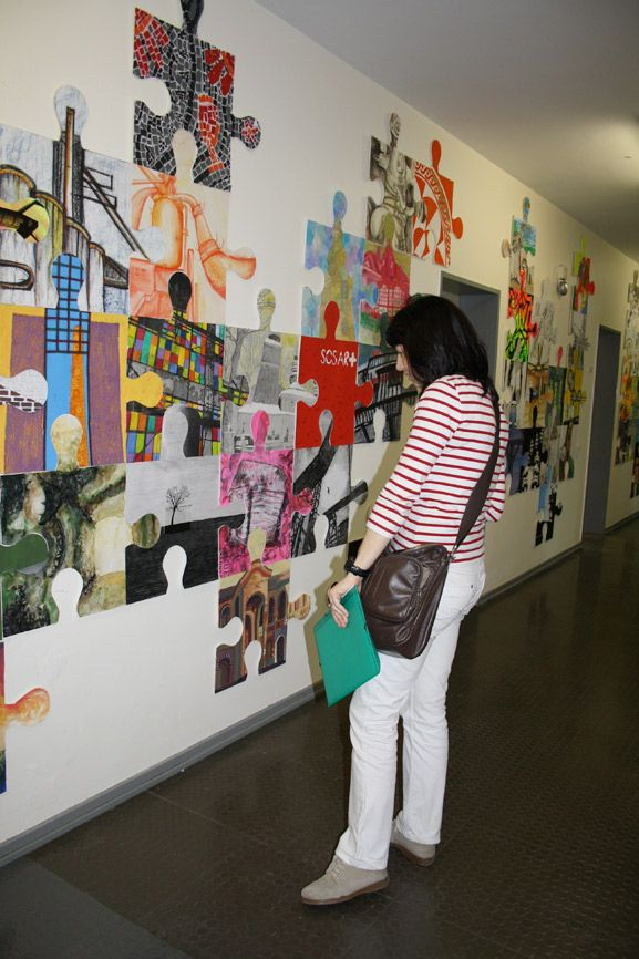 puzzle art installation & collaborative project germany tim kelly artist world-wide                                                                                                                                                                                 More