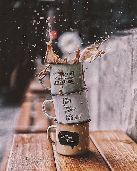 A Cup of Coffee Solves Everything #CoffeeLovers #MorningCoffee