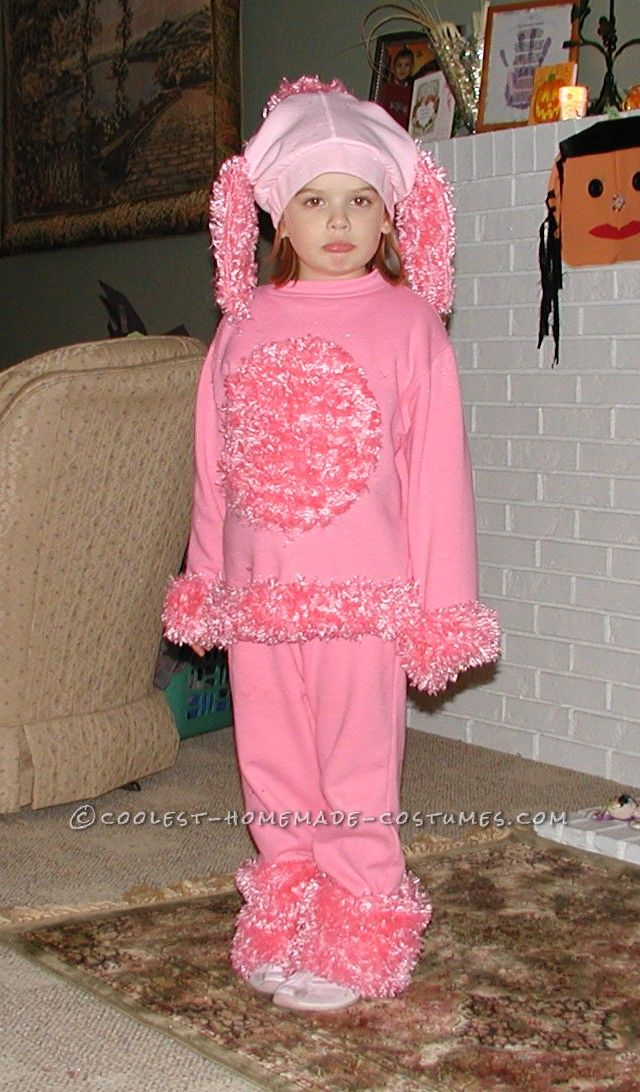 Coolest Pink Poodle Costume for a Little Girl  sc 1 st  Pinterest & 7 best poodle costume images on Pinterest   Carnival Costume ideas ...