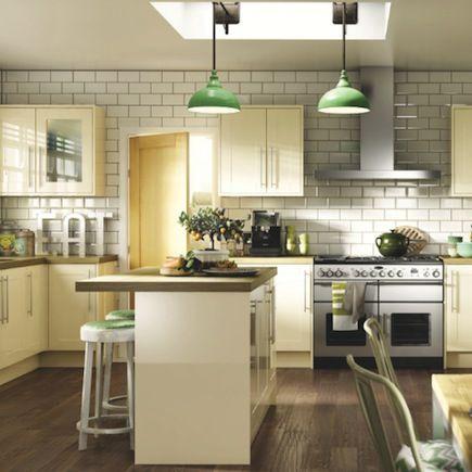 Wickes Atlanta Cream Shaker Kitchen.  Kitchen-compare.com - Home - Independent Kitchen Price Comparisons