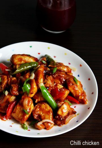 chilli chicken recipe saucy