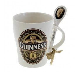 Guinness Collectors Edition 2014 - Label Mug & Spoon Set