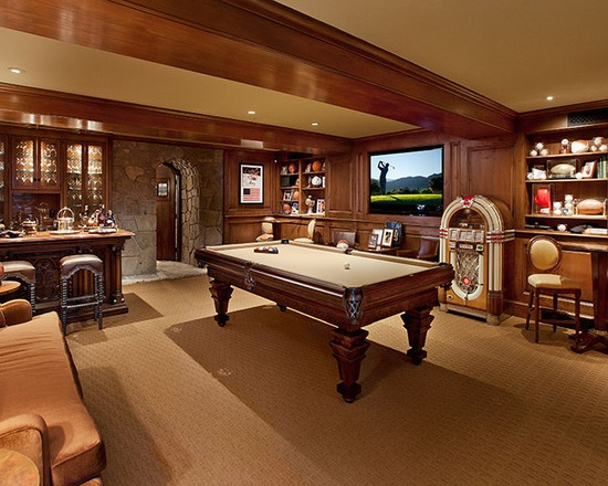 Our family game room!