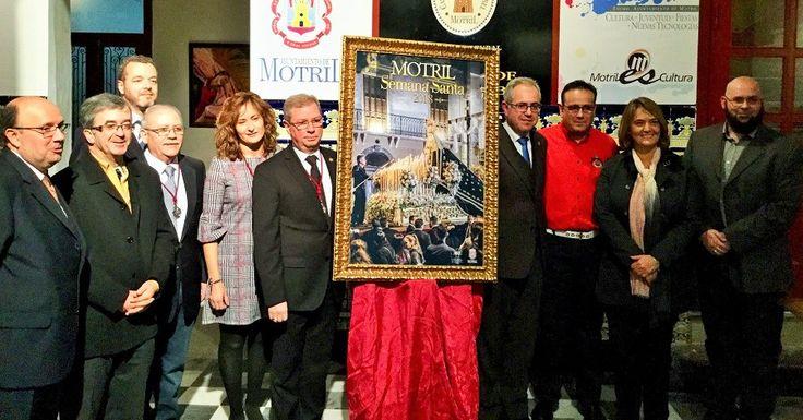 MOTRIL. La Agrupación de Hermandades y Cofradías de Semana Santa de Motril ha presentado este sábado el cartel de la Semana Mayor, una bellísima imagen obra del fotógrafo
