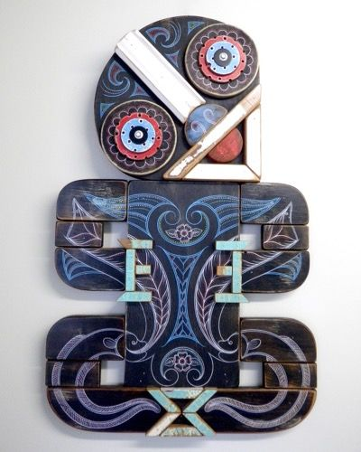 New Zealand Wall Art Tiki