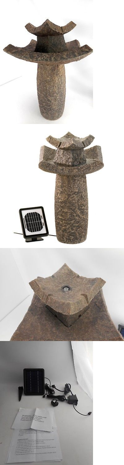 Outdoor Fountains 20507: Furniture Creations 12844 - Asian Temple Water Fountain -> BUY IT NOW ONLY: $130.05 on eBay!