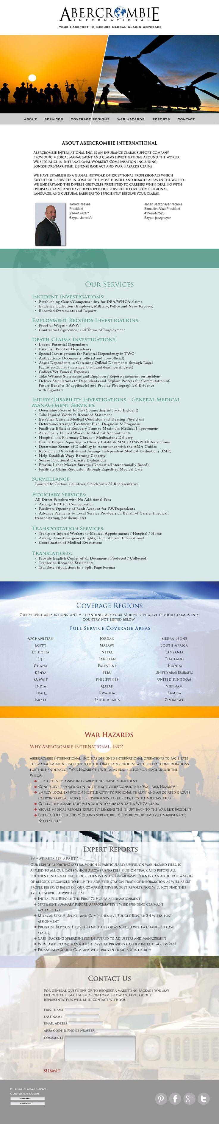 Abercrombie International - International Insurance Brokers