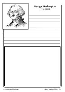 Free printables - Notebooking pages of Famous People, Historical figures
